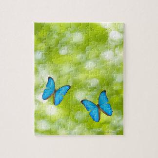 Butterflies flying, Digital Composite Puzzles