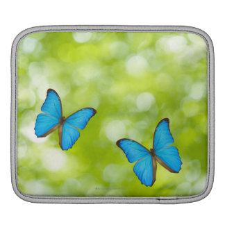 Butterflies flying iPad sleeve