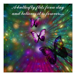 Butterflies Forever Poster