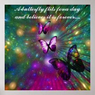 Butterflies Forever Poster