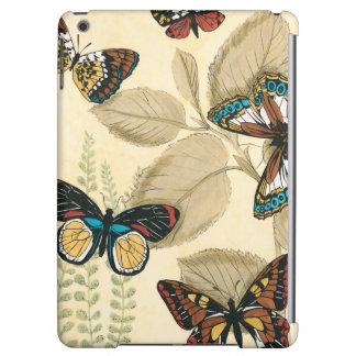 Butterflies Gliding Over Leaves