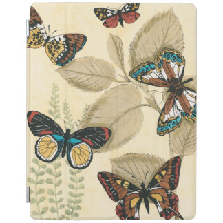 Butterflies Gliding Over Leaves iPad Cover
