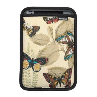 Butterflies Gliding Over Leaves iPad Mini Sleeve