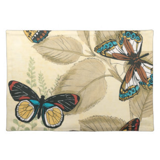 Butterflies Gliding Over Leaves Placemat
