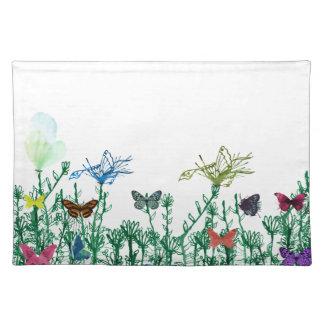 Butterflies & Grass American MoJo Placemats