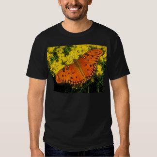 butterflies gulf fritillary tee shirt