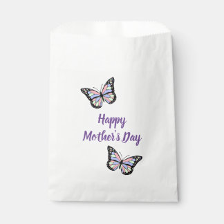 Butterflies Happy Mother's Day Favour Bags