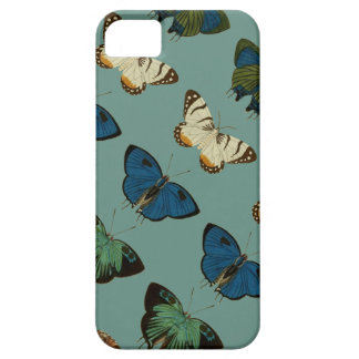 Butterflies in Blue iPhone 5 Cover