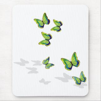 Butterflies in flight mouse mat