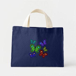 Butterflies in Flight Summer Mini Tote Bag