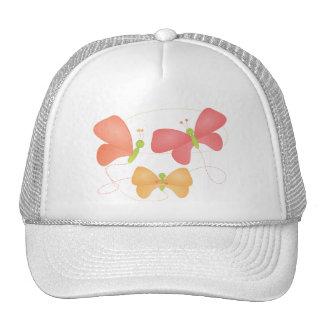 Butterflies in Fruity Colors Cap