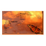 Butterflies in the Sky Business Card Templates