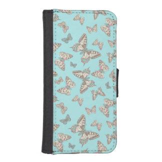Butterflies inked pattern art flap case