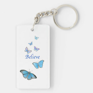 Butterflies key chain