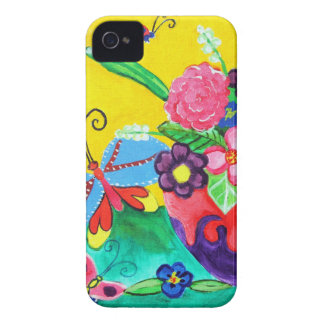 Butterflies & Ladybugs BlackBerry Bold iPhone 4 Cover