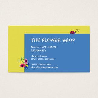 Butterflies & Ladybugs Business Card