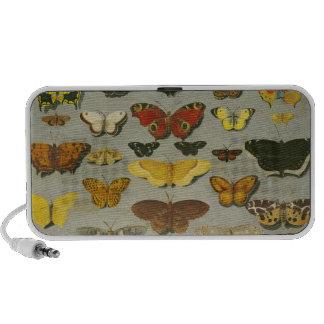 Butterflies Laptop Speakers