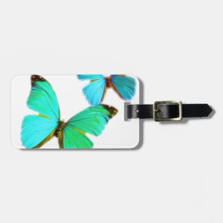 butterflies! tag for luggage