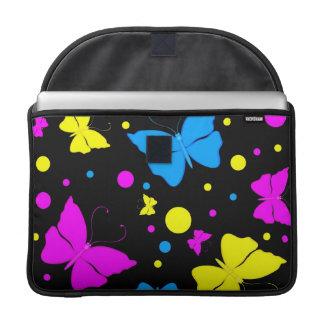 Butterflies MacBook Pro Rickshaw Flap Sleeve Sleeves For MacBook Pro
