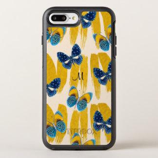 Butterflies Monogram Iphone 8 Plus/7 Plus Case