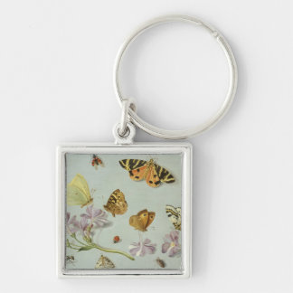 Butterflies moths and other insects keychain