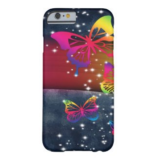 Butterflies n Rainbows Barely There iPhone 6 Case