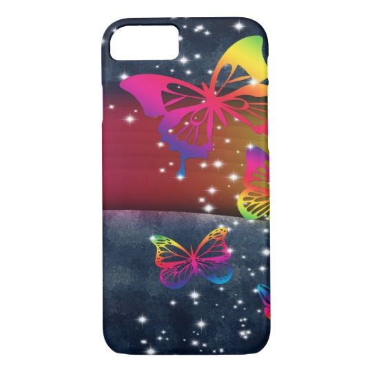 Butterflies n Rainbows iPhone 8/7 Case