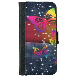 Butterflies n Rainbows iPhone 6 Wallet Case