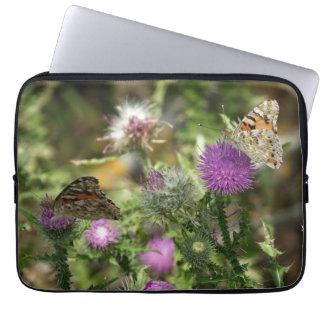"Butterflies Nature Phot Neoprene Laptop Sleeve 13"""