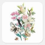 Butterflies of Summer Square Sticker