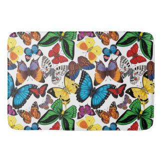 Butterflies of the World Bath Mat