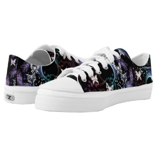 Butterflies on Acid Low Tops