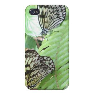 Butterflies on Fern iPhone 4 Case