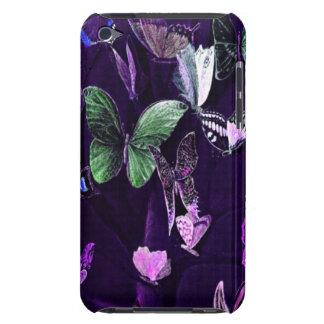 Butterflies On Purple iPod Touch Case