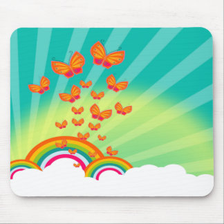 Butterflies Over The Rainbows Mousepad TBA 3 10 09