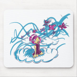Butterflies passing by mousepads