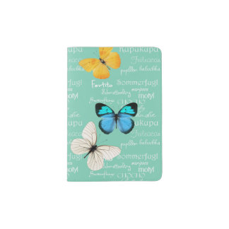 Butterflies Passport Holder