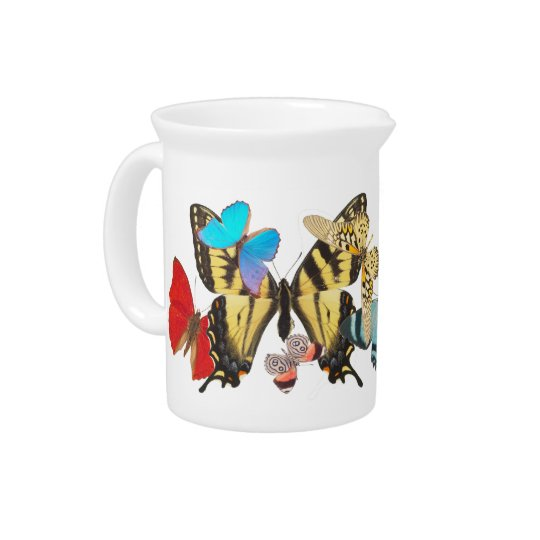 Butterflies Pitcher