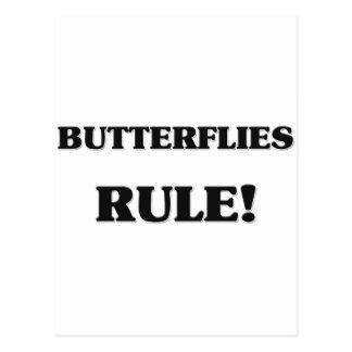 Butterflies Rule Postcard