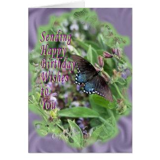 Butterflies Sage-customize it Cards