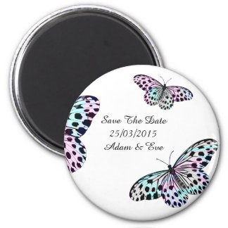 Butterflies - Save The Date Magnet
