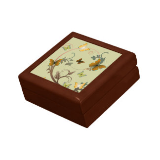 Butterflies Small Square Gift Box