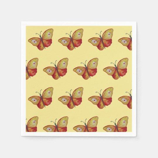 Butterflies Stylish Summer Napkins Paper Serviettes