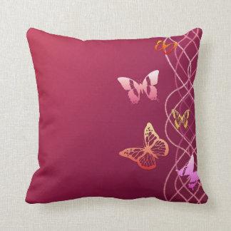 Butterflies Throw Cushion