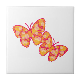 Butterflies Ceramic Tile