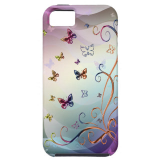 Butterflies Tough iPhone 5 Case