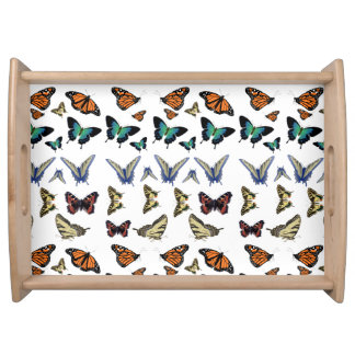 Butterflies Tray Food Trays