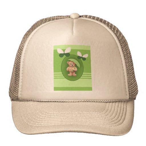 Butterflies & Umbrella Teddy Bear Trucker Hat