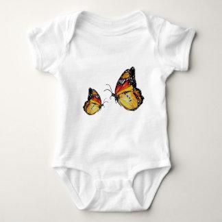 Butterflies watercolor drawingBaby Jersey Bodysuit