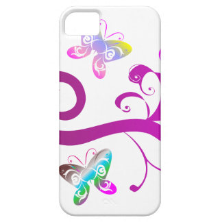 butterflies wings spring pink purple wing pattern case for the iPhone 5